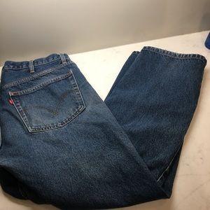 Levi's 505 regular fit jeans 38x30